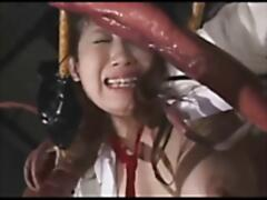 Japanese Student Tentacle Rape